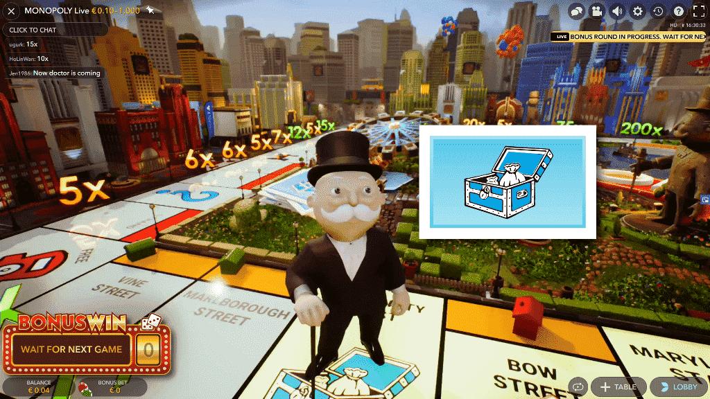 Mr. Monopoly bonus